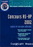 Concours AS-AP 2002